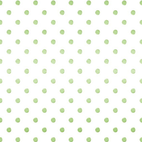 Gradient Dot in Grass Green