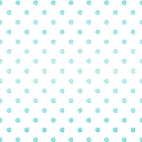 Turquoise Gradient Dot