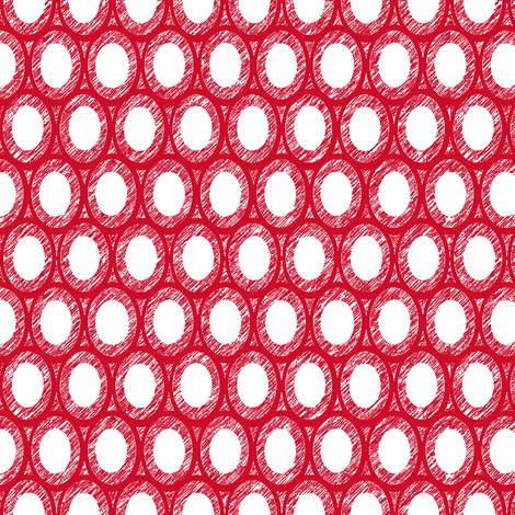 I heart egg and dart fabric by keweenawchris on Spoonflower - custom fabric