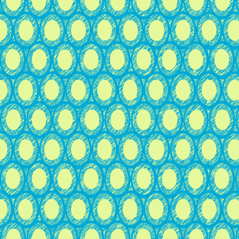 caribbean egg and dart  fabric by keweenawchris on Spoonflower - custom fabric