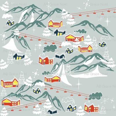 Retro Swiss Village