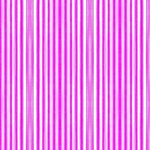 Purple and white candy stripes