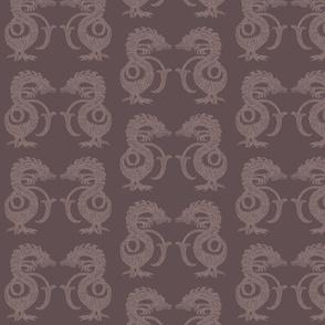 Dragons at Dawn - Chocolate and Cream