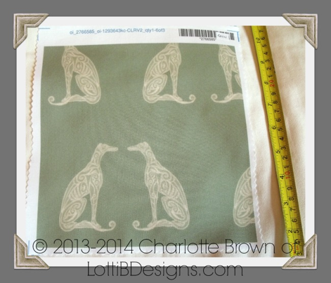 Greyhounds, Seeing Double - Heritage Green and Cream