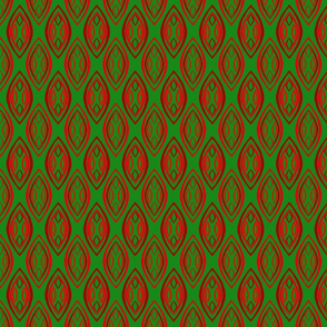 Massai Ornaments-Green