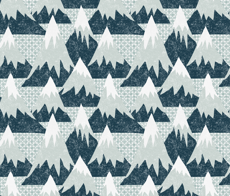 Slopes fabric by vo_aka_virginiao on Spoonflower - custom fabric