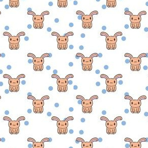 Bunnydots - Peach