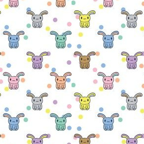 Bunnydots - Rainbow (Spaced)