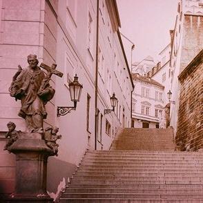Sepia Prague