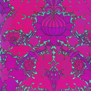 William Morris ~ Growing Damask ~ Wilde
