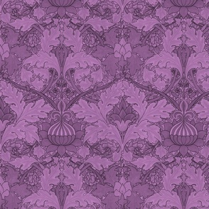 William Morris ~ Growing Damask ~ Hothouse Flower