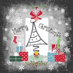 Christmas Tree Quilt-Merry Christmas