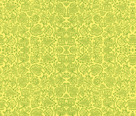 Jacobean yellow