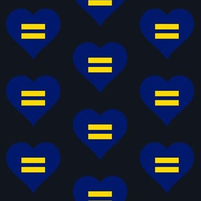 Equality Heart (Blue)