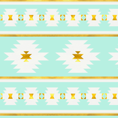 Brighton in New Mint and Gold