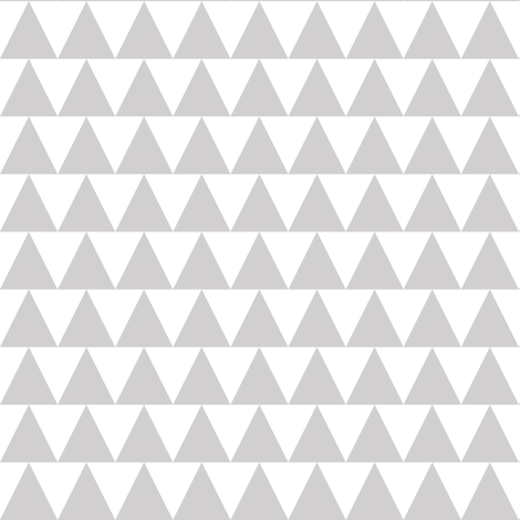 gray triangles on white