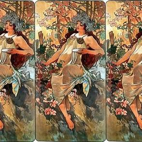 Alfons Mucha Autumn