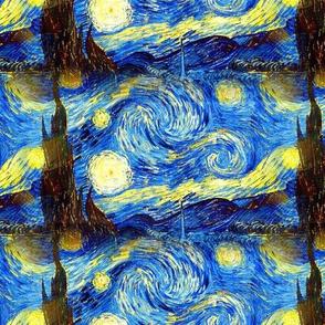 van Gogh Starry Night 1889
