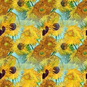 Vincent Van Gogh Vase With Twelve Sunflowers 1889