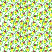 Tiny Italian Floral Ditzy