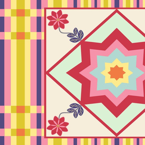 QuiltLayout-42-58in-YardW-WeeFlower-2-SF-SpringPallet