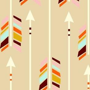 Large Arrows: Sand