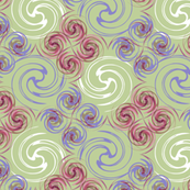 Spirals_purple and pink