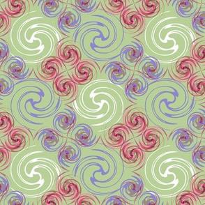 Spirals_purple and pink