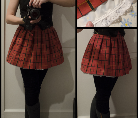RWBY School Uniform Plaid