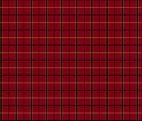 RWBY School Uniform Plaid fabric by caffeine_crusader on Spoonflower - custom fabric