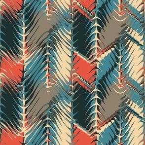 herringbone motif