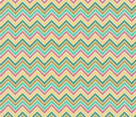 vintage_chevron fabric by betsyberry1984 on Spoonflower - custom fabric