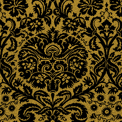 Rococo Serpentine 1h fabric by muhlenkott on Spoonflower - custom fabric