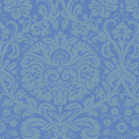 Rococo Serpentine 1a fabric by muhlenkott on Spoonflower - custom fabric