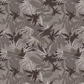 Marijuana Camo Gray