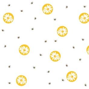daisydots-white