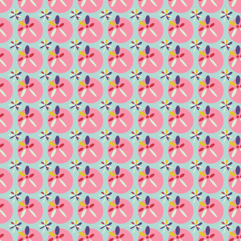 Simple Scope Retro  fabric by joybucket on Spoonflower - custom fabric
