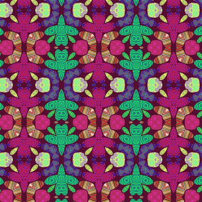 Pattern 49 - Small turtles. Odette Lager Design