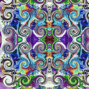 CJC Neon Swirl