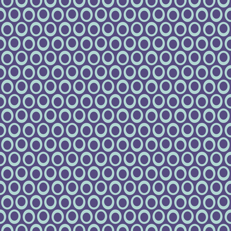 MOD Dot Blue .5 IN fabric by joybucket on Spoonflower - custom fabric