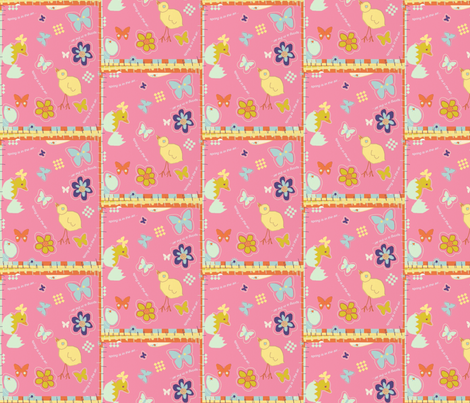 Spring baby fabric by designs_by_alice on Spoonflower - custom fabric
