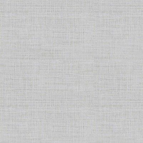 Linen Look, Silver Grey