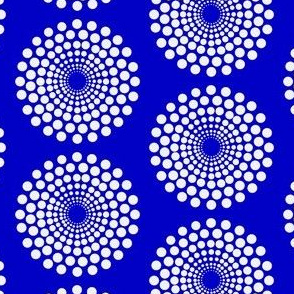 mod blue circle