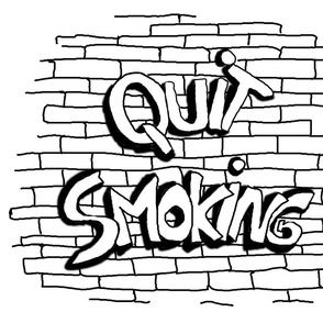 QUIT SMOKING BW WHITE 1
