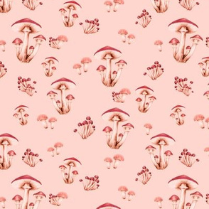Forest Floor in Blushing Peach
