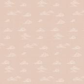 Oriental Clouds in Ecru