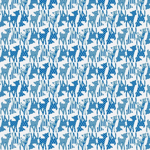 Dazzling Blue Two Way Deer