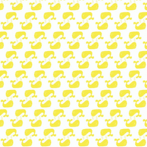 Yellow Freesia Two Way Chevron Whale