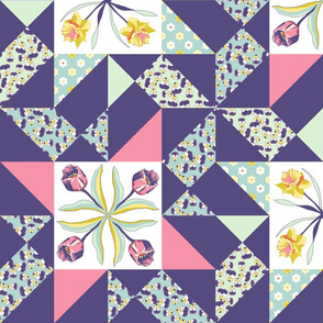 24_inch_floral_quilt_block_combo_tulip_and_daf