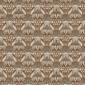 brown ikat